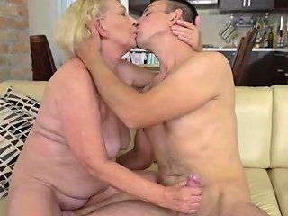Big Ass Blonde Granny Fucked By Her Boy Toy Upornia Com