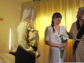 New Sister Wife Joins The Family By Blowing Her New