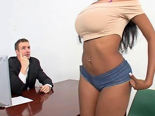 Ghetto Booty Bounces On A White Dick As The Slut Moans Any Porn