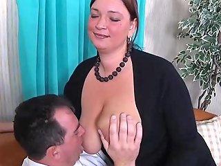 BBW German Slut Sucks And Fucks Segment