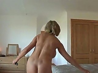 Cheating British Mature Lady Sonia Pops Out Her Massive Balloons