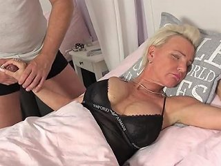 Hung Dude Wakes Up Mature Lady Jill With His Thick Cock Any Porn