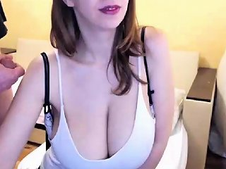 Redhead With Big Puffy Nipples Fucked Hard At Porn Interview